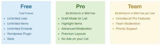 Premium List.ly