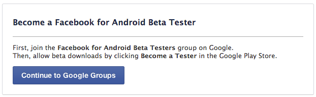 Android Facebook Invite