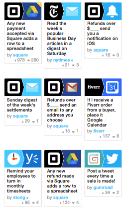 IFTTT Recipes for Small Business