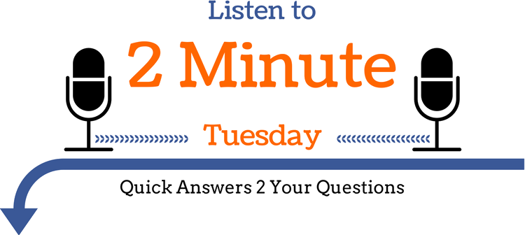 2 Minute Tuesday Podcast