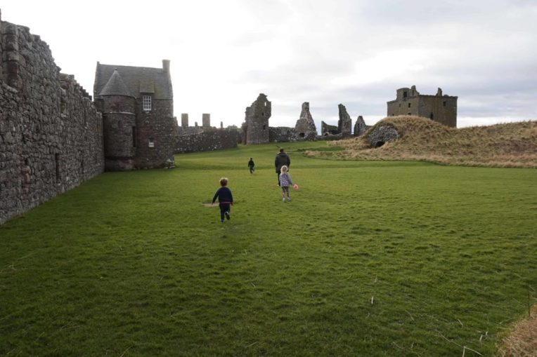 A Visit to Merida's Home - Dunnottar Castle, Scotland
