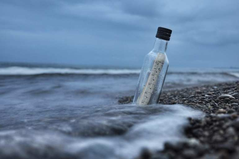 message-bottle