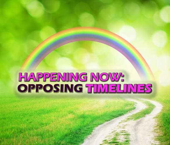 Happening Now: Opposing Timelines