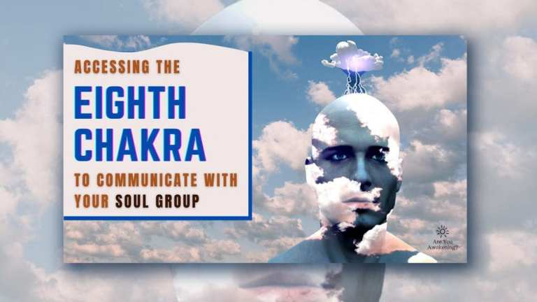 Accessing the 8th chakra