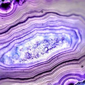 purple geode painting