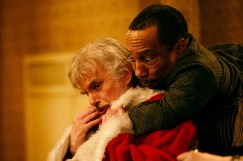 (l-r) Billy Bob Thornton stars as Willie Soke and Tony Cox as Marcus Skidmore in BAD SANTA 2, a Broad Green Pictures and MIRAMAX release.