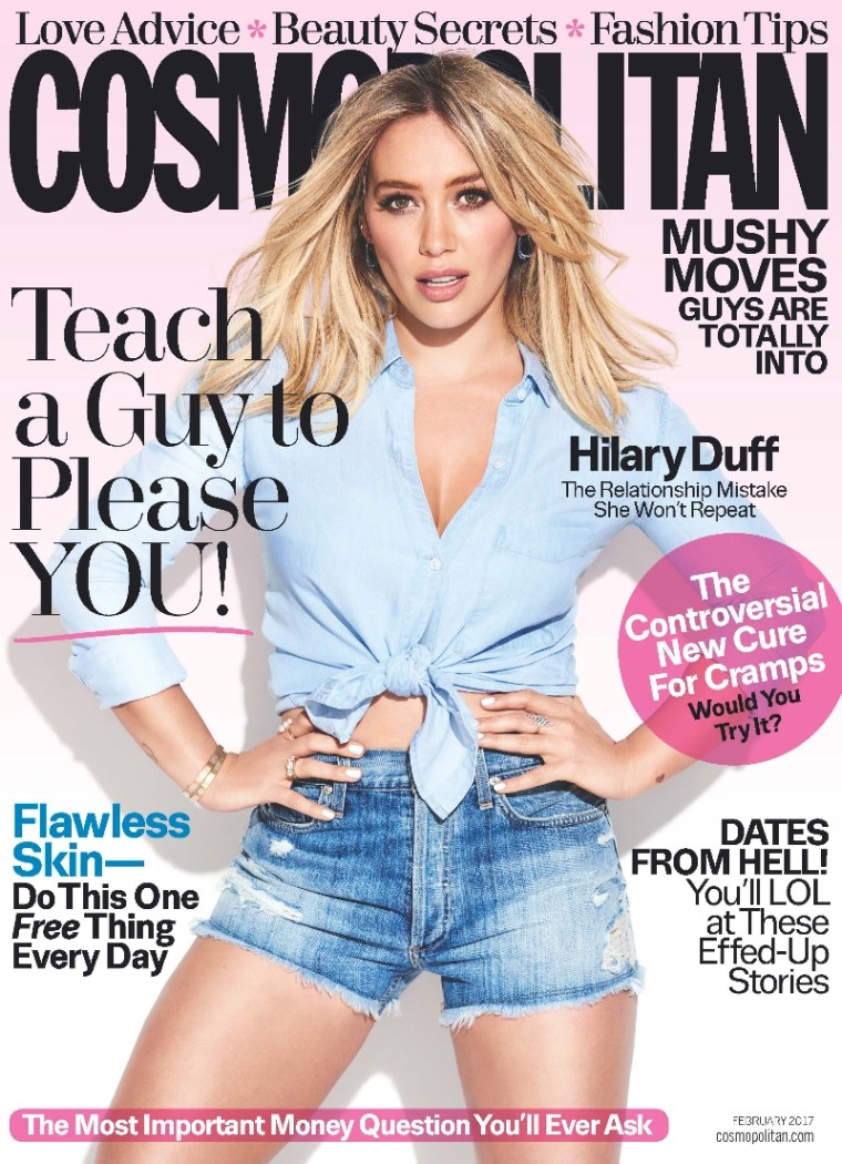 Hilary Duff Cosmo Feb 17