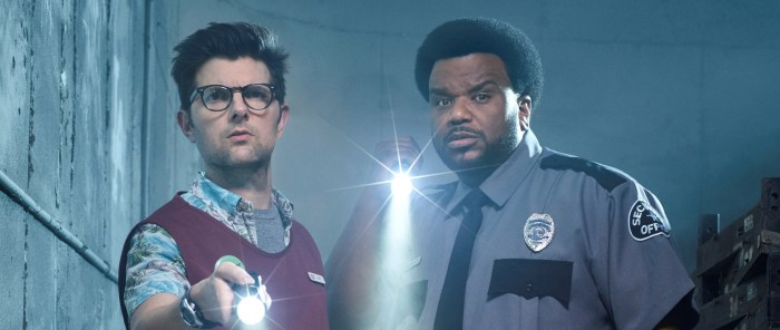 GHOSTED: L-R: Adam Scott and Craig Robinson