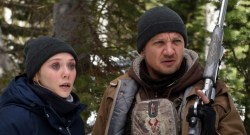 Elizabeth Olsen and Jeremy Renner star in Wind River