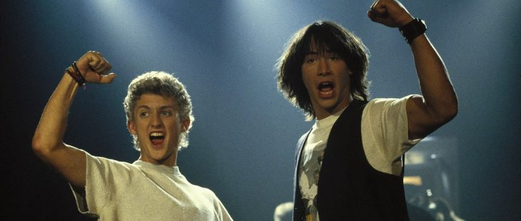 Keanu Reeves and Alex Winter Will Officially Reunite the Band for 'Bill and Ted 3'