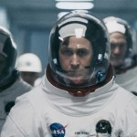 """First Man (L to R) LUKAS HAAS as Mike Collins, RYAN GOSLING as Neil Armstrong and COREY STOLL as Buzz Aldrin in """"First Man,"""" directed by Oscar®-winning filmmaker Damien Chazelle"""