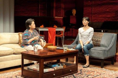 Mia Katigbak as Vera and Tiffany Villarin as Momo