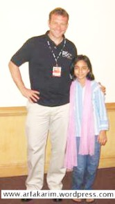 arfa karim randhawa at the age of 9