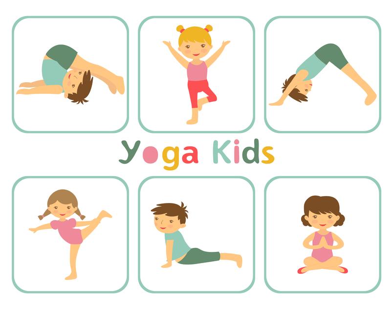 © Olga Galeeva | Dreamstime.com - Yoga kids