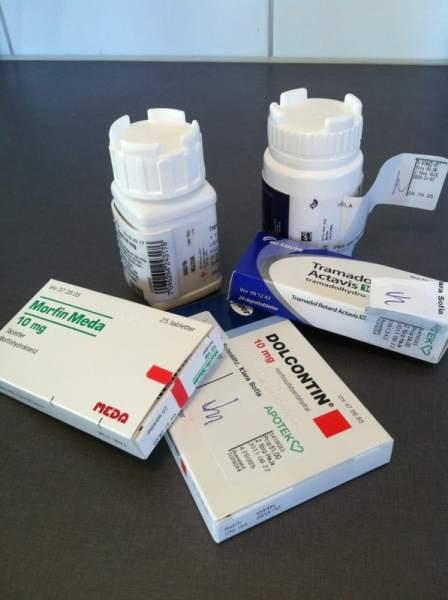 Medicin, piller, smärtstillande