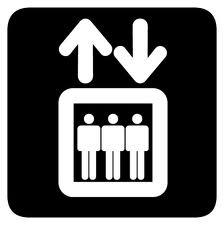 hiss, tecknad bild på hiss. Veckans minus