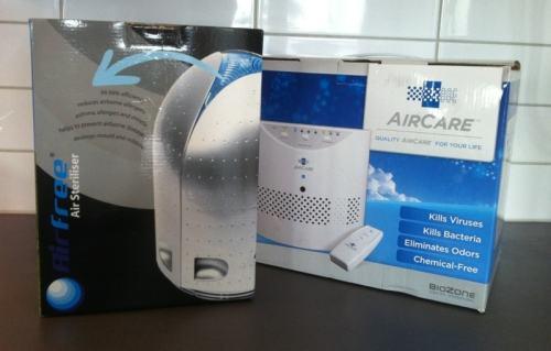 Luftrenare, Airfree och Biozone