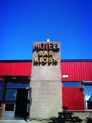 Motel Bar Kiosk