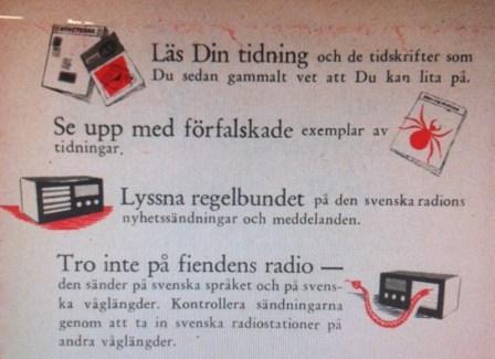 I händelse av krig: Vägledning för Sveriges medborgare: Om kriget kommer. Läs din tidning!