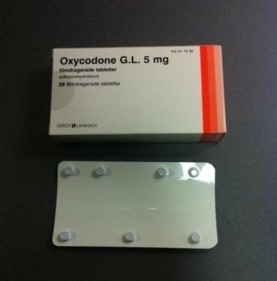 Ark med Oxycodone. Usel förpackning ur miljösynpunkt?!