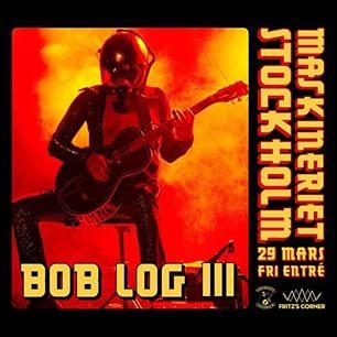 Bob Log III på Maskineriet