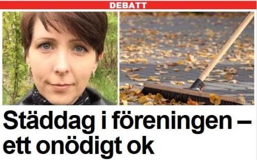 Arga Klara i Expressen debatt