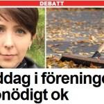 Ny artikel i Expressen