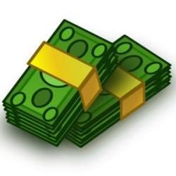 Pengar, sedlar. Hoppas på medicinskt underlag