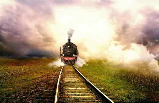 Tåg, lok och räls