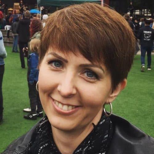 Arga Klara på Rockfesten i Kungsträdgården