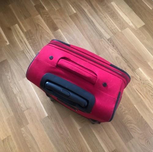 Bagage, resväska. Emotionellt bagage.