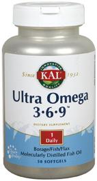 Ultra Omega 3-6-9 50 perlas KAL