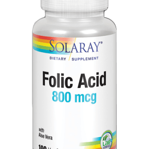 acido folico solaray 800mg