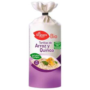 Tortas Arroz Quinoa Bio El Granero