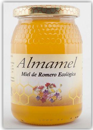 Miel Cruda Romero Bio 500g Almamel