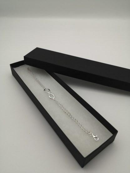 infinity bracelet in box