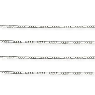 1.7mm figaro chain