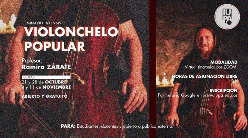 Seminario de violonchelo popular sobre la Zamba (danza folklórica argentina)