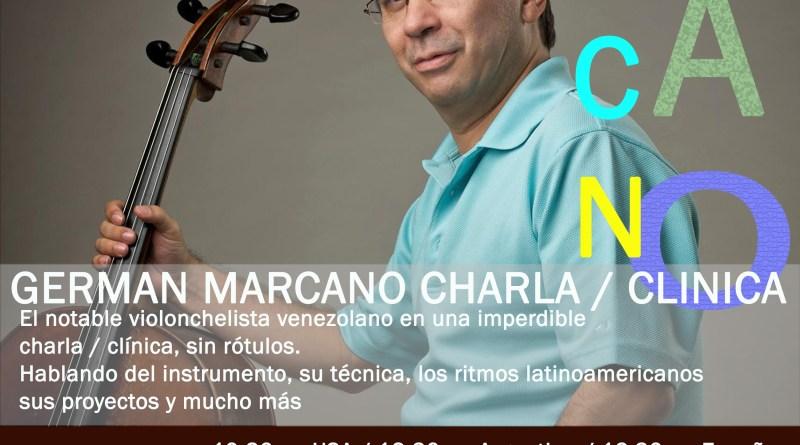 Charla / Clínica de Germán Marcano en el Argencello FEST 2020