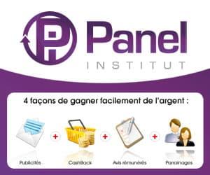 Sondages rémunérés - Panel Institut