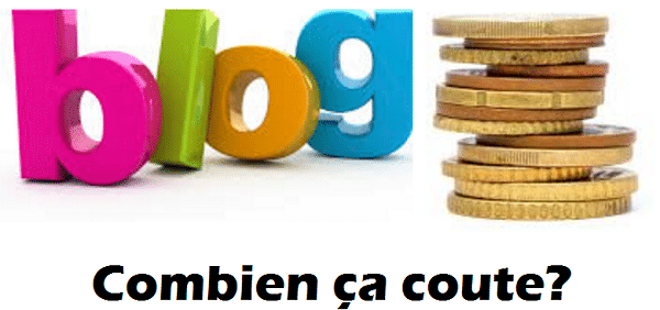 prix d'un blog
