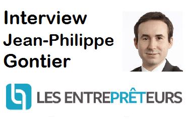 Interview de Jean-Philippe Gontier CEO et Fondateur Les Entreprêteurs