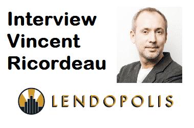 Interview de Vincent Ricordeau - Lendopolis