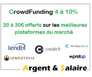 Top offres parrainage Crowdfunding