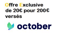 Offre parrainage OCTOBER (ex LENDIX) - Bonus