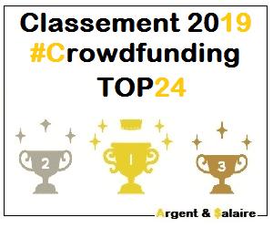 Classement des meilleures plateformes de CrowdFunding 2019