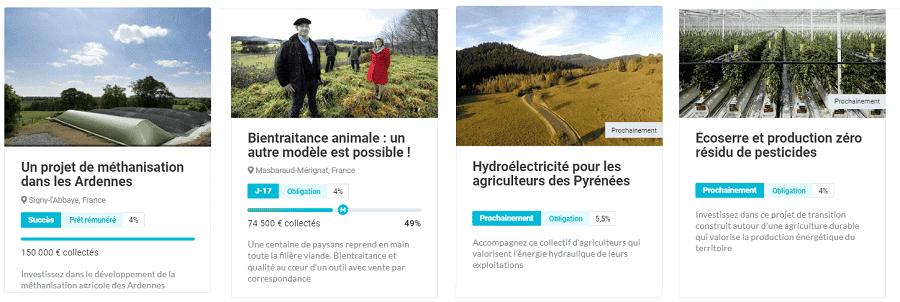 Miimosa projets de transition agricole, alimentaire et énergétique
