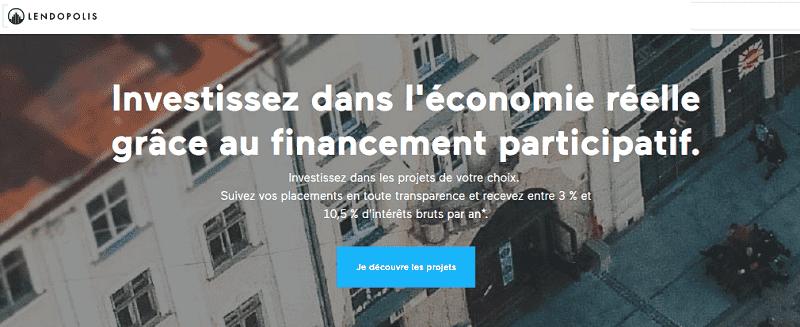 Avis Lendopolis plateforme de crowdfunding