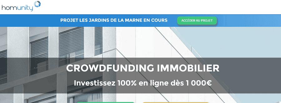 Avis Homunity - Plateforme de Crowdfunding Immobilier