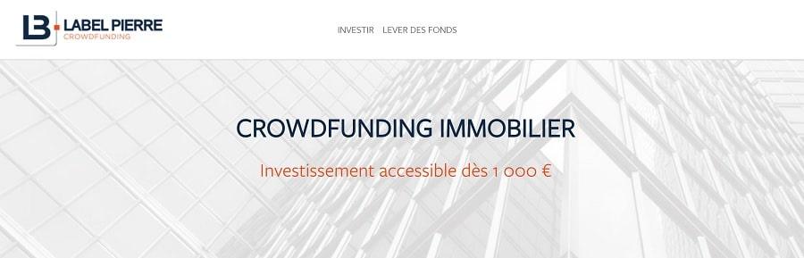 label-pierre.fr Plateforme de Crowdfunding immobiilier